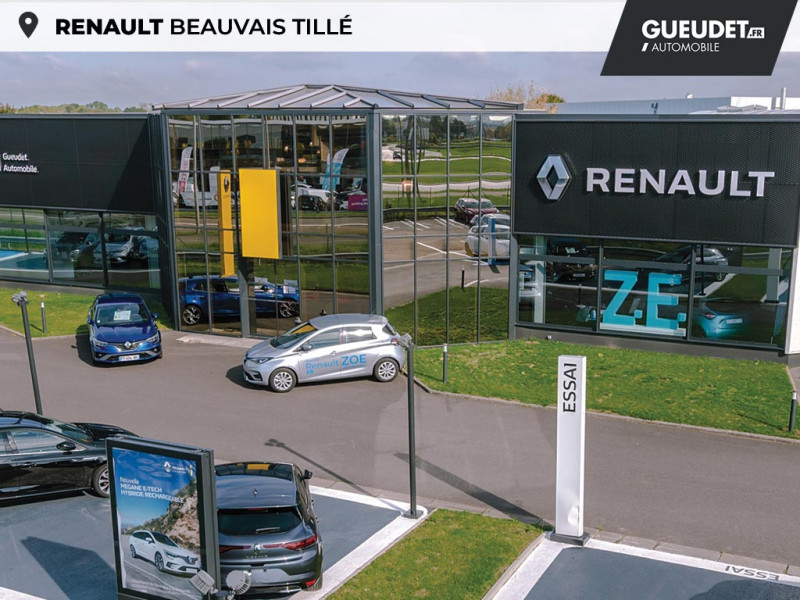 Renault Clio 1.5 dCi 75ch energy Zen 5p Blanc occasion à Beauvais - photo n°16