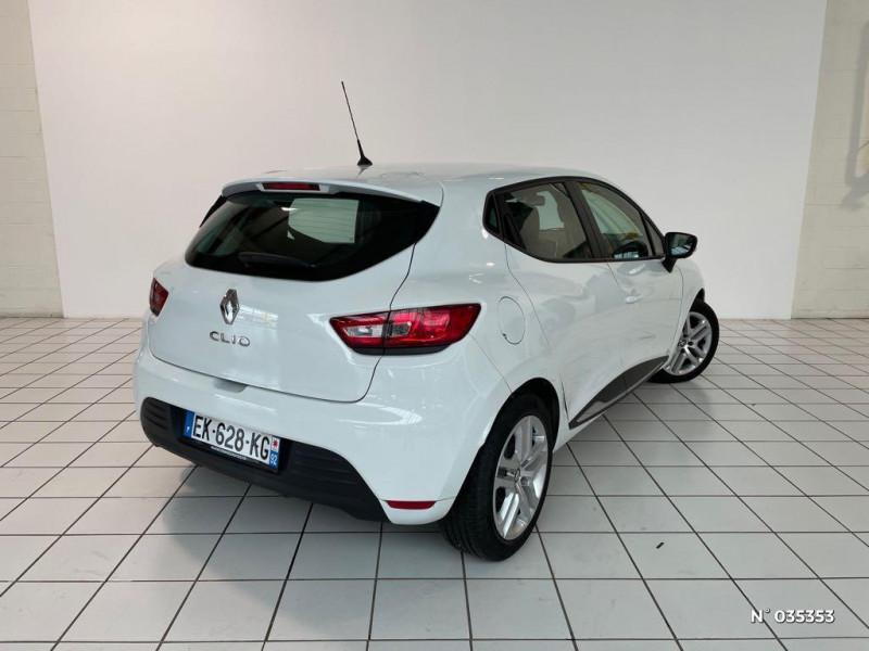 Renault Clio 1.5 dCi 75ch energy Zen 5p Blanc occasion à Beauvais - photo n°6