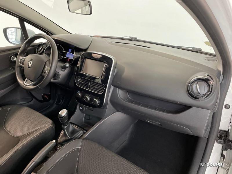 Renault Clio 1.5 dCi 75ch energy Zen 5p Blanc occasion à Beauvais - photo n°4