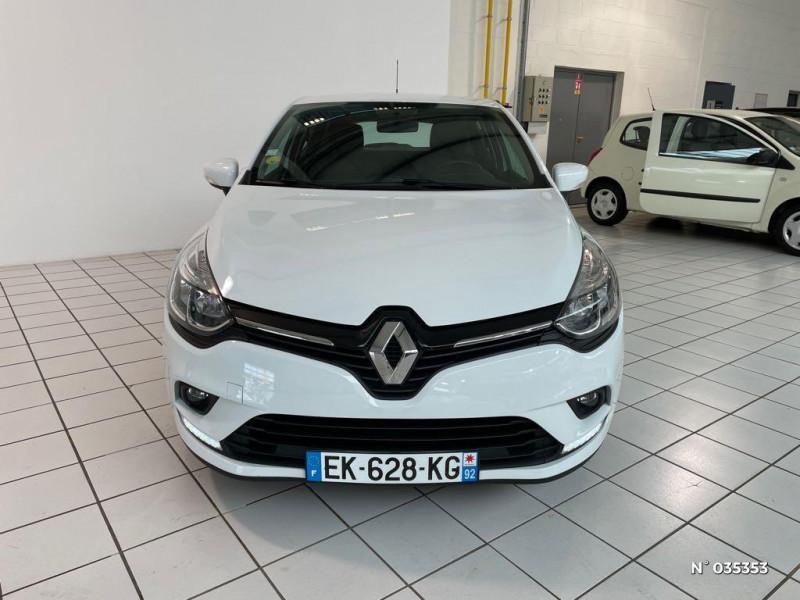 Renault Clio 1.5 dCi 75ch energy Zen 5p Blanc occasion à Beauvais - photo n°2