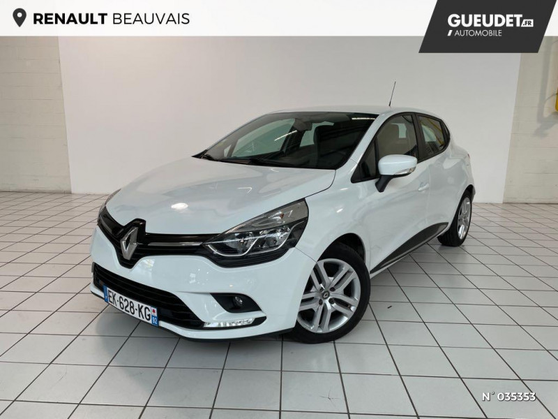 Renault Clio 1.5 dCi 75ch energy Zen 5p Blanc occasion à Beauvais