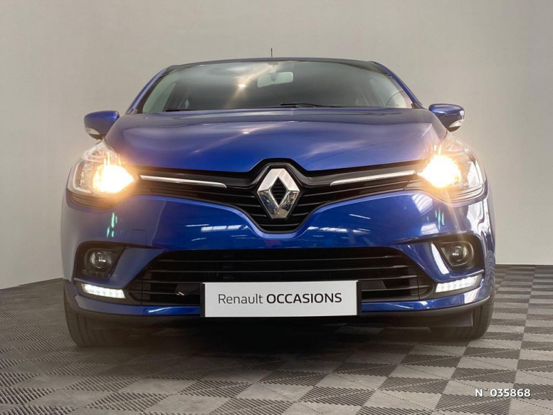 Renault Clio 1.5 dCi 90ch energy Zen Euro6 82g 2015 Bleu occasion à Abbeville - photo n°2