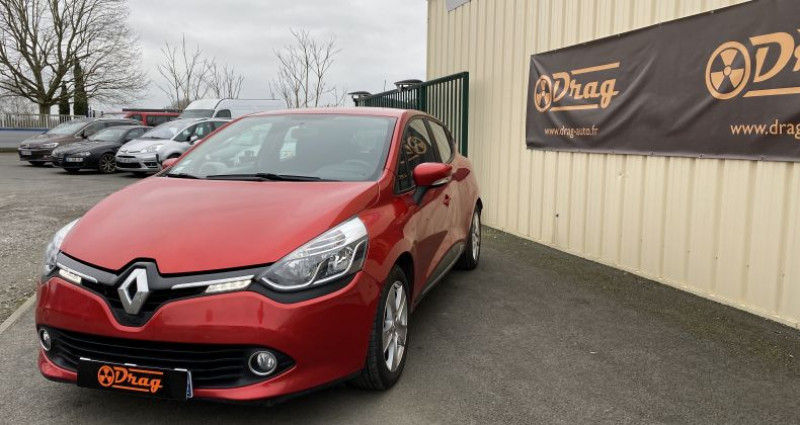 Renault Clio 4 1.5 dCi 90ch energy Business 82g 5p Rouge occasion à AVRILLE