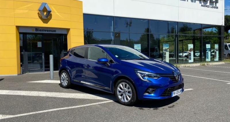 Renault Clio CLIO V INTENS BLUE DCI 115CV Bleu occasion à La Talaudiere