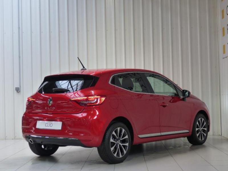 Renault Clio Intens TCe 130 EDC FAP Rouge occasion à MORLAIX - photo n°4