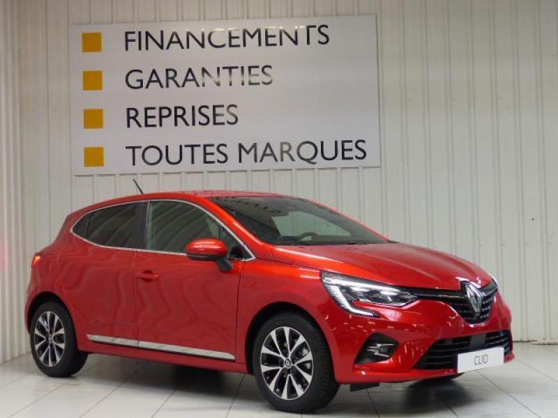 Renault Clio Intens TCe 130 EDC FAP Rouge occasion à MORLAIX - photo n°2