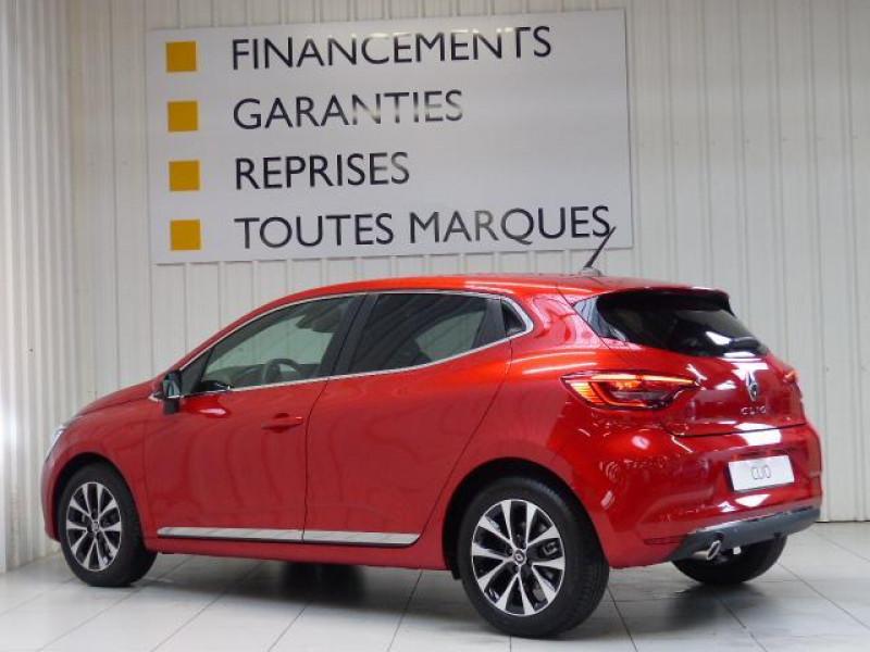 Renault Clio Intens TCe 130 EDC FAP Rouge occasion à MORLAIX - photo n°3