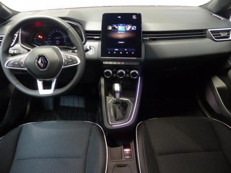 Renault Clio Intens TCe 130 EDC FAP Rouge occasion à MORLAIX - photo n°5