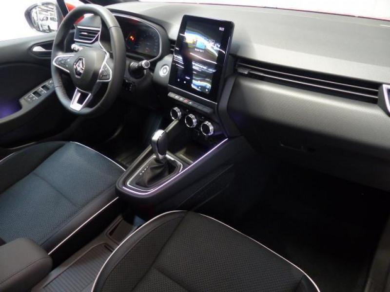 Renault Clio Intens TCe 130 EDC FAP Rouge occasion à MORLAIX - photo n°6