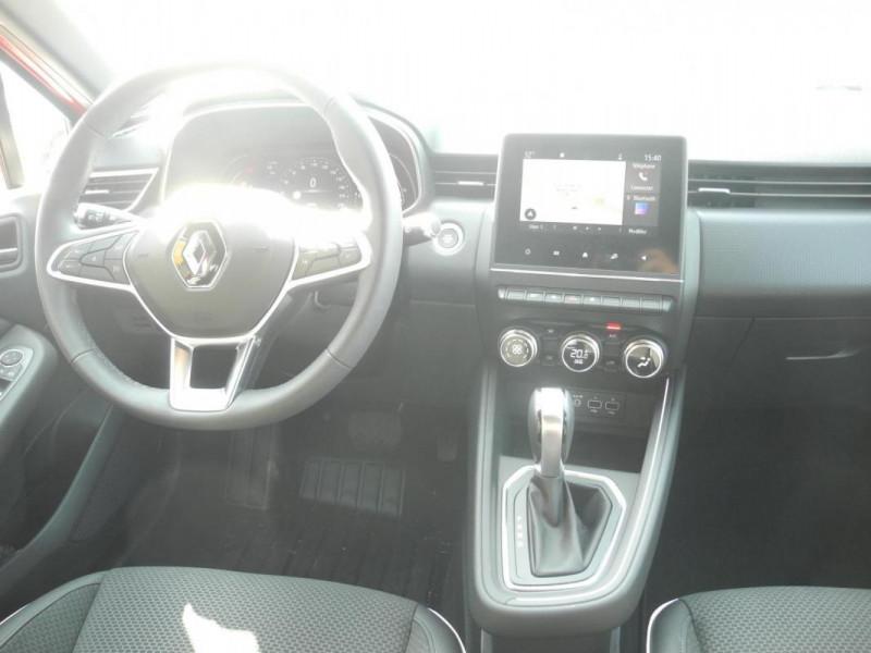 Renault Clio Intens TCe 130 EDC FAP Rouge occasion à AURAY - photo n°6