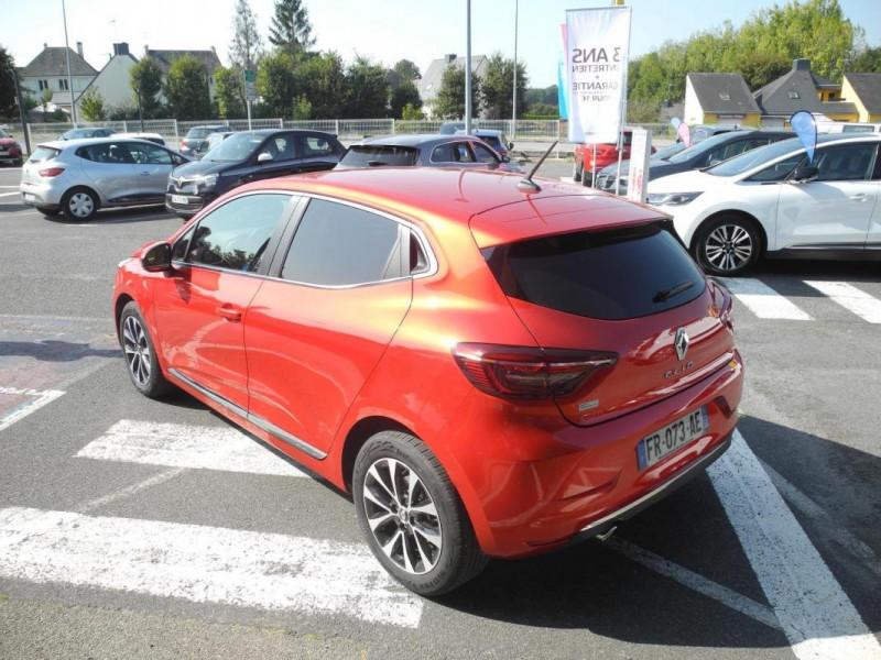 Renault Clio Intens TCe 130 EDC FAP Rouge occasion à AURAY - photo n°4