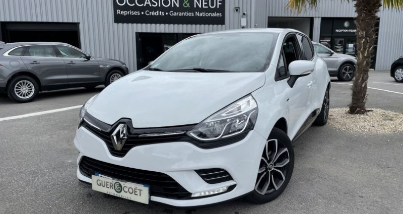 Renault Clio IV 0.9 TCE 75CH ENERGY LIMITED 5P EURO6C Blanc occasion à GUER - photo n°2