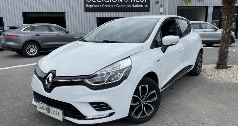Renault Clio IV 0.9 TCE 75CH ENERGY LIMITED 5P EURO6C Blanc occasion à GUER