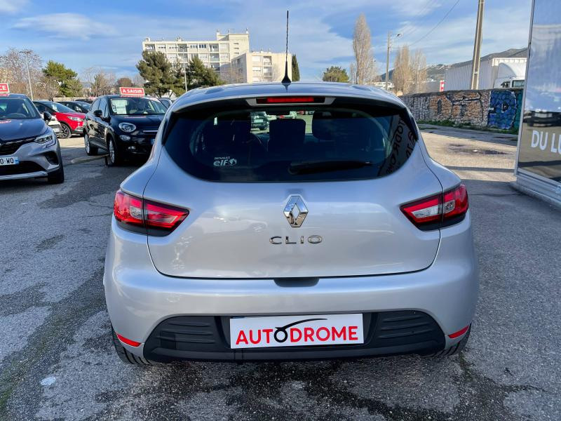Renault Clio IV 0.9 TCe 90ch Zen (Clio 4)- 20 000 Kms Gris occasion à Marseille 10 - photo n°7