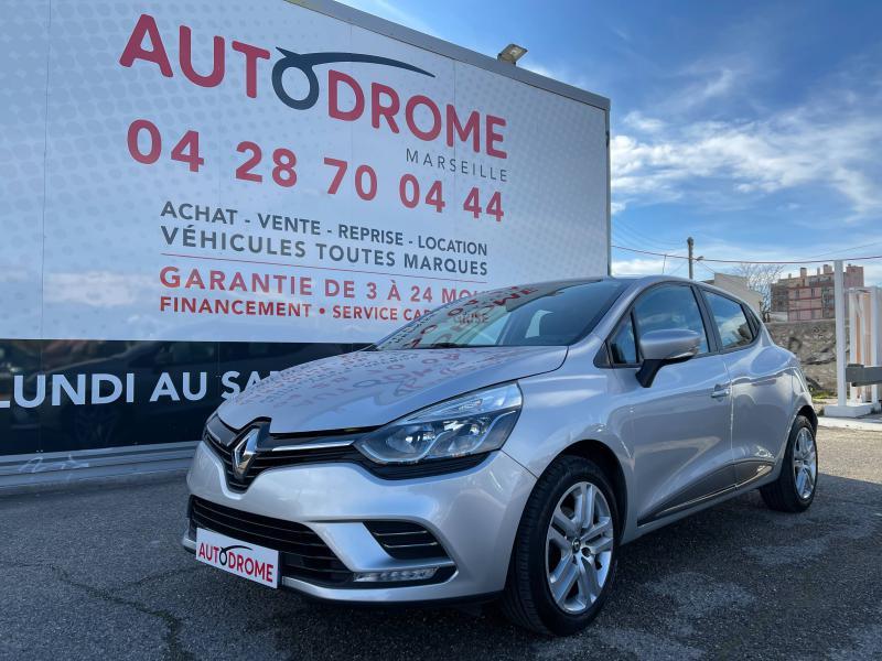 Renault Clio IV 0.9 TCe 90ch Zen (Clio 4) - 22 000 Kms Gris occasion à Marseille 10