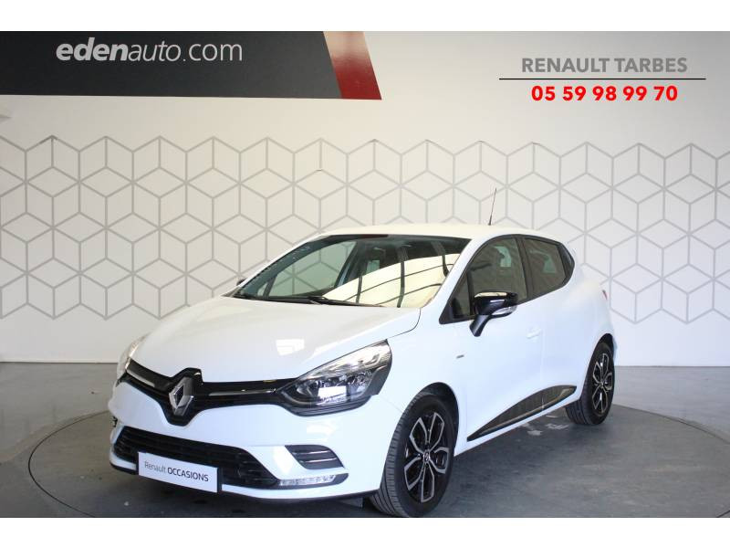 Renault Clio IV 1.2 16V 75 Limited Blanc occasion à TARBES