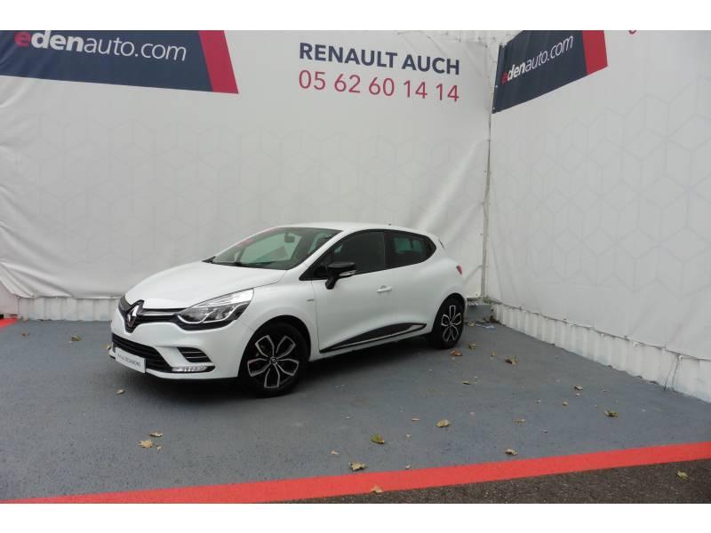 Renault Clio IV 1.2 16V 75 Limited Blanc occasion à L'Isle-Jourdain