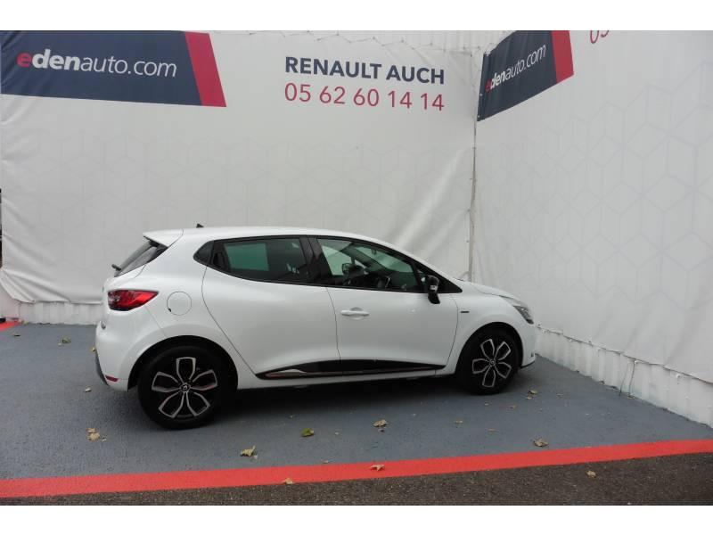 Renault Clio IV 1.2 16V 75 Limited Blanc occasion à L'Isle-Jourdain - photo n°2