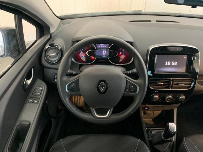 Renault Clio IV 1.2 16V 75 Limited Gris occasion à CONCARNEAU - photo n°4