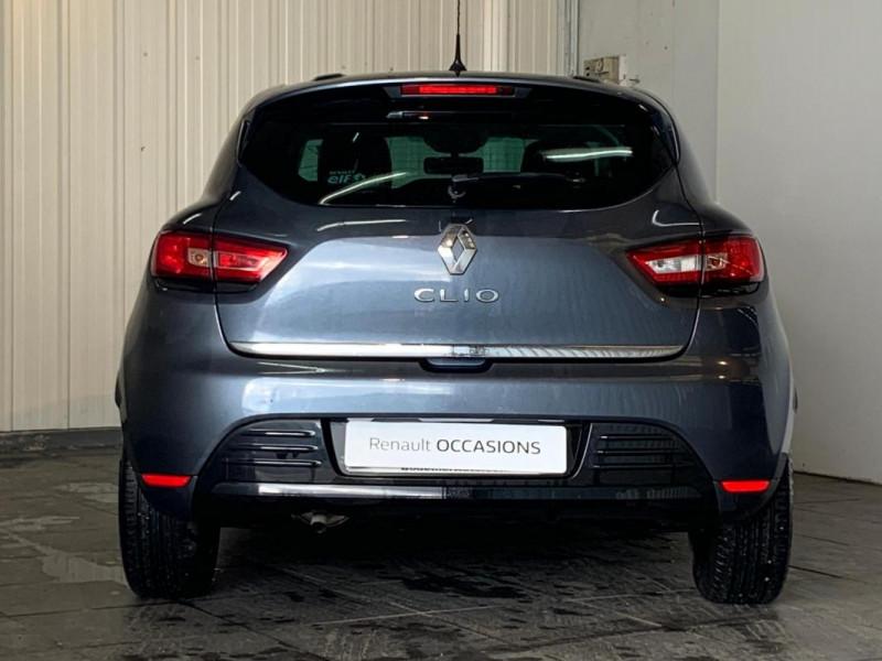 Renault Clio IV 1.2 16V 75 Limited Gris occasion à CONCARNEAU - photo n°12