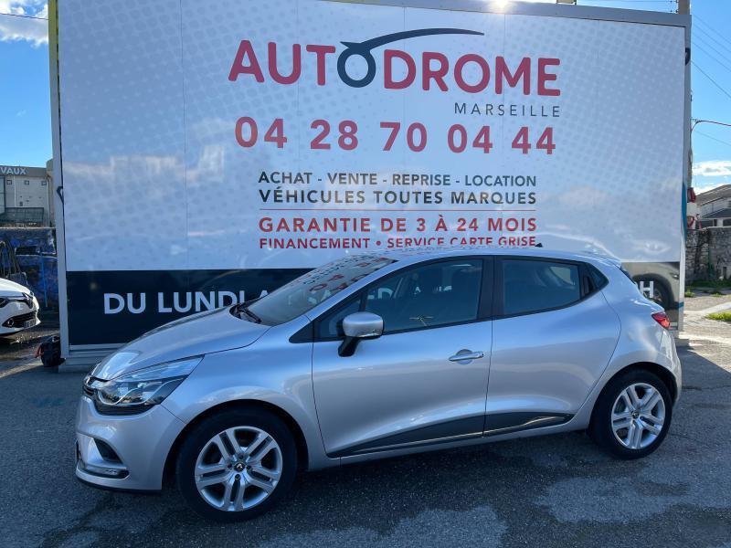Renault Clio IV 1.5 dCi 75ch Business 5p (Clio 4) - 32 000 Kms Gris occasion à Marseille 10 - photo n°4