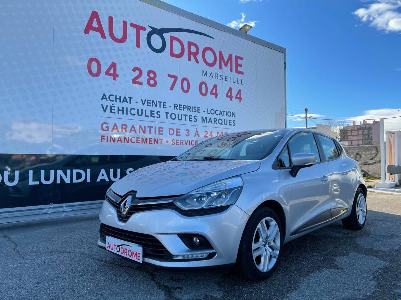 Renault Clio IV 1.5 dCi 75ch Business 5p (Clio 4) - 33 000 Kms Gris occasion à Marseille 10