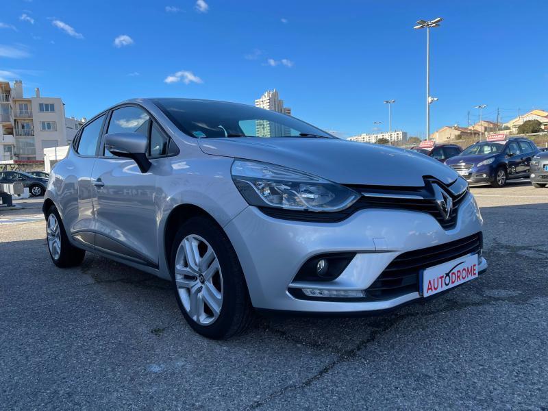 Renault Clio IV 1.5 dCi 75ch Business 5p (Clio 4) - 35 000 Kms Gris occasion à Marseille 10 - photo n°3