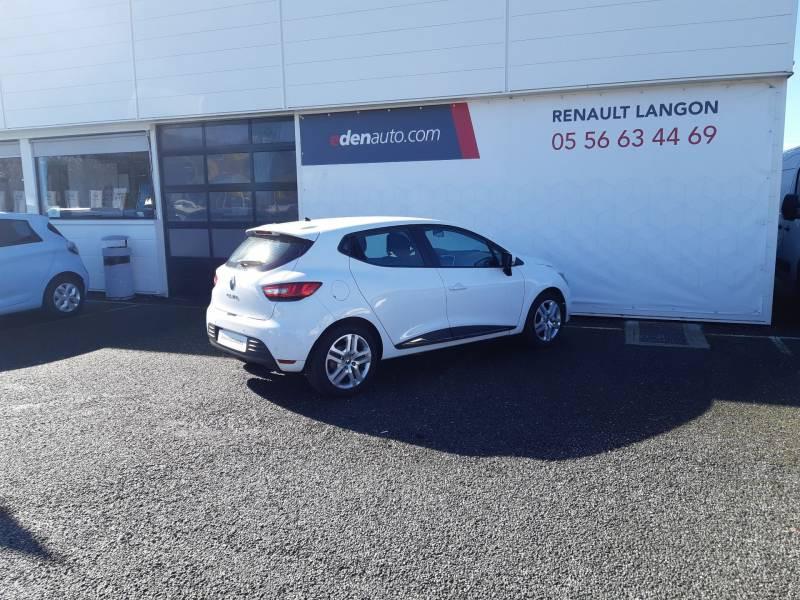 Renault Clio IV BUSINESS dCi 75 E6C Blanc occasion à Langon - photo n°5