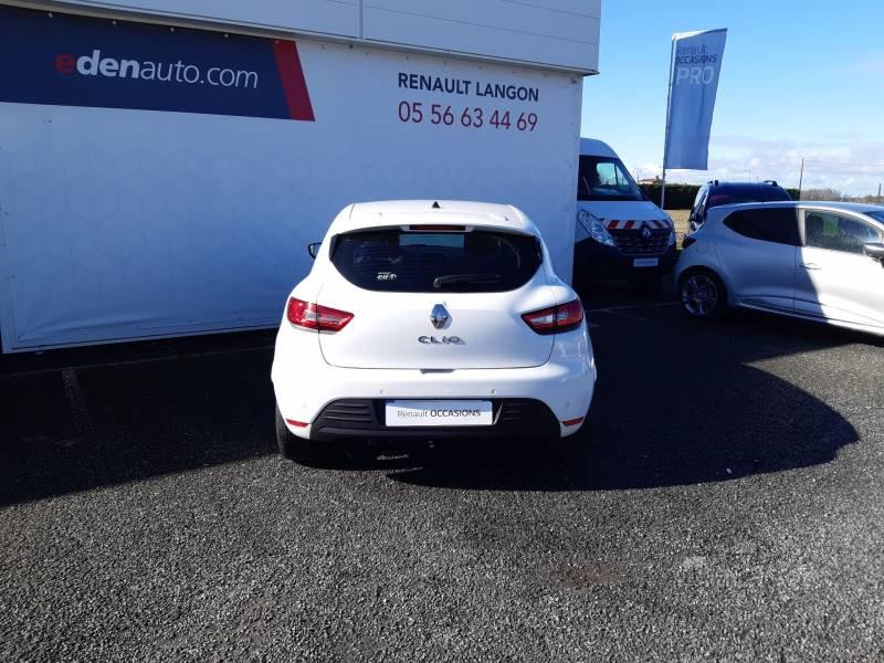 Renault Clio IV BUSINESS dCi 75 E6C Blanc occasion à Langon - photo n°4