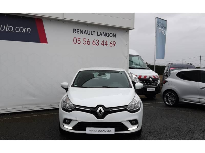 Renault Clio IV BUSINESS dCi 75 E6C Blanc occasion à Langon