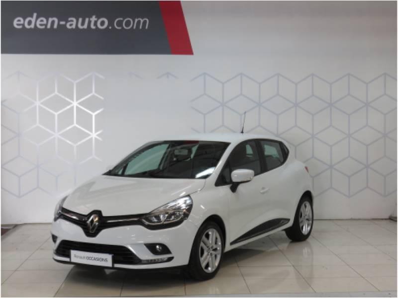 Renault Clio IV BUSINESS dCi 75 E6C Blanc occasion à BAYONNE
