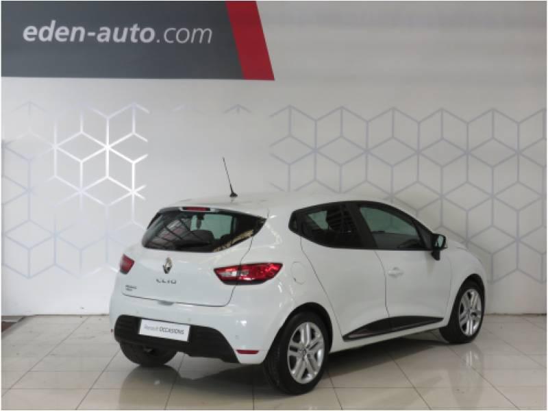 Renault Clio IV BUSINESS dCi 75 E6C Blanc occasion à BAYONNE - photo n°2