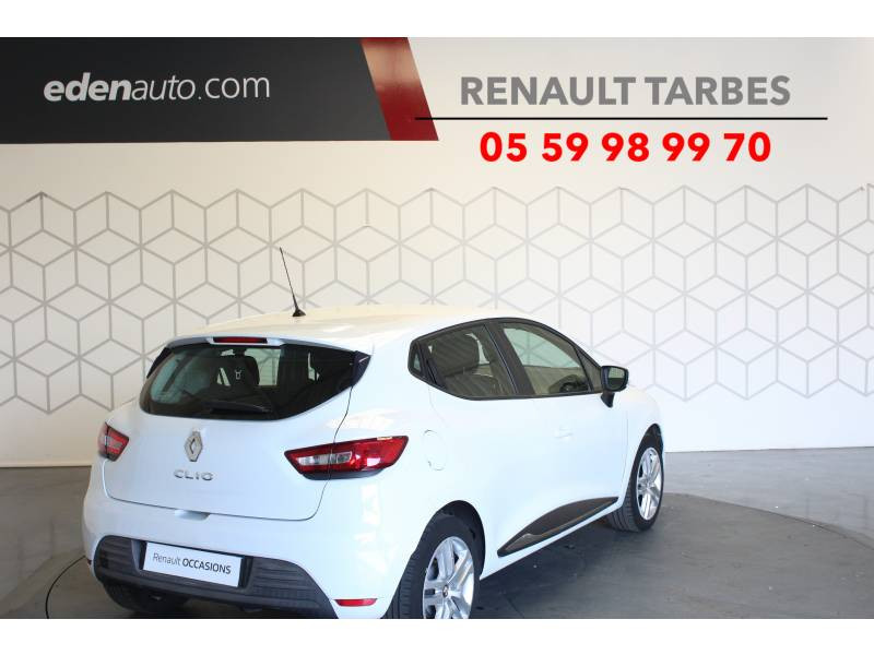 Renault Clio IV BUSINESS dCi 75 Energy Blanc occasion à TARBES - photo n°5