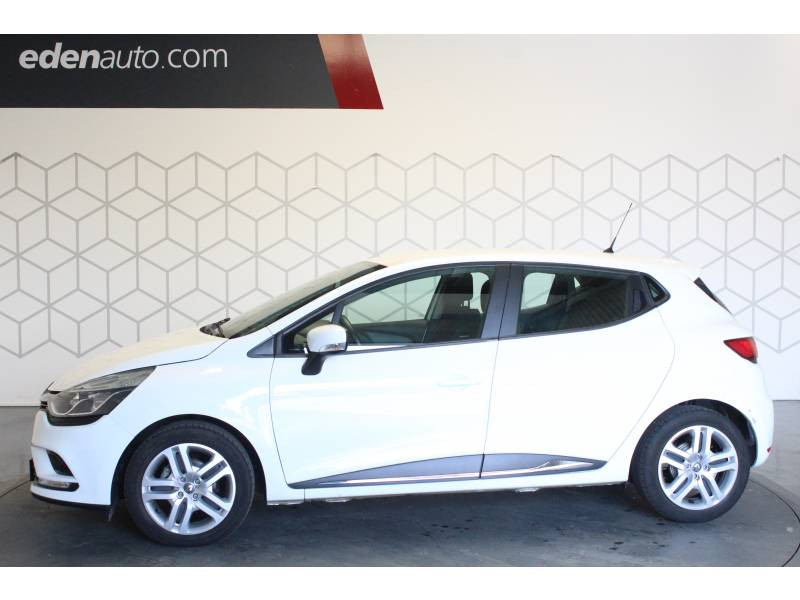 Renault Clio IV BUSINESS dCi 75 Energy Blanc occasion à TARBES - photo n°3