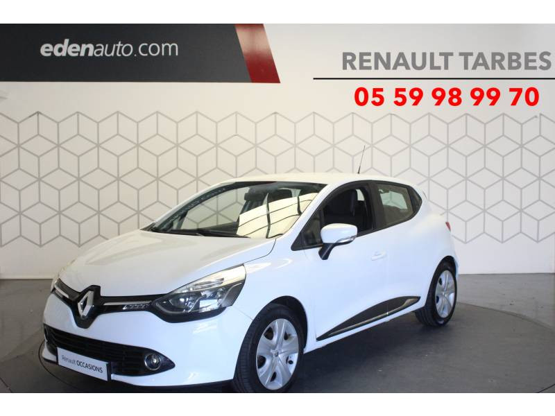 Renault Clio IV BUSINESS dCi 75 Blanc occasion à TARBES