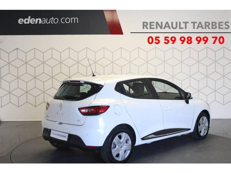 Renault Clio IV BUSINESS dCi 75 Blanc occasion à TARBES - photo n°5
