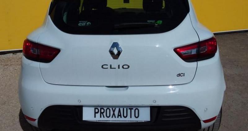 Renault Clio IV BUSINESS dCi 90 Energy eco2 82g Blanc occasion à Fontenay-le-vicomte - photo n°5