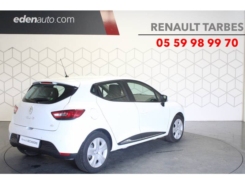 Renault Clio IV BUSINESS dCi 90 Energy eco2 82g Blanc occasion à TARBES - photo n°5