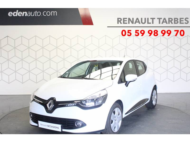 Renault Clio IV BUSINESS dCi 90 Energy eco2 82g Blanc occasion à TARBES