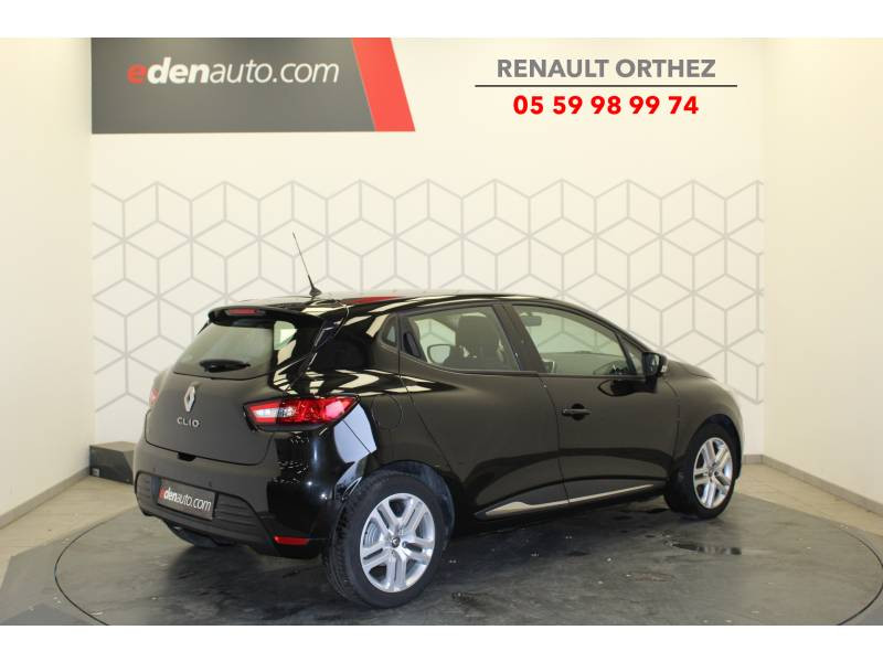 Renault Clio IV BUSINESS TCe 90 E6C Noir occasion à Orthez - photo n°3