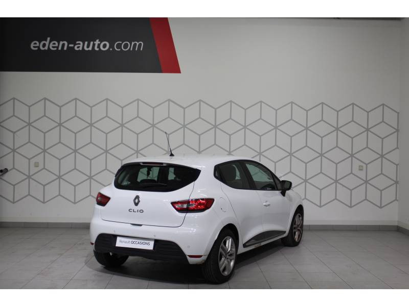 Renault Clio IV BUSINESS TCe 90 Energy Blanc occasion à Biarritz - photo n°2