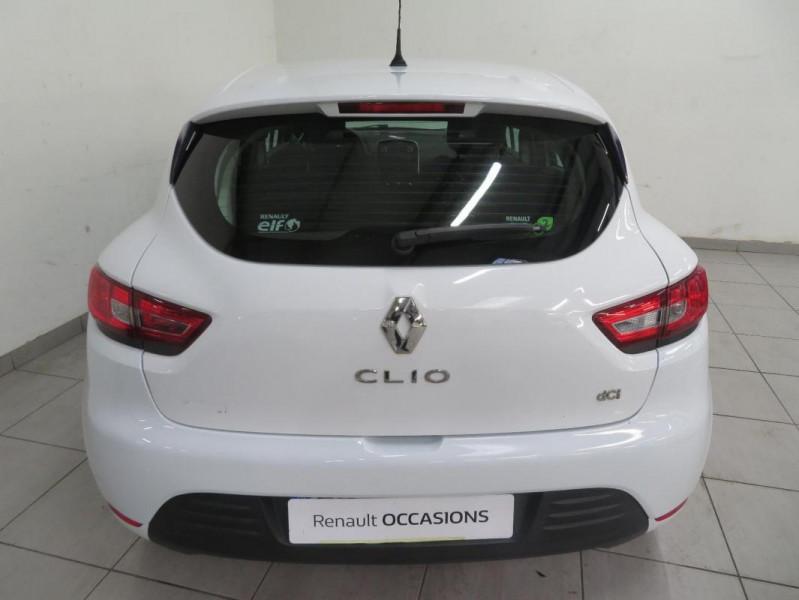 Renault Clio IV dCi 75 Energy Life Blanc occasion à QUIMPER - photo n°6