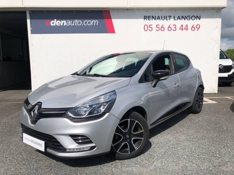 Renault Clio IV dCi 75 Energy Limited Gris occasion à Langon - photo n°2