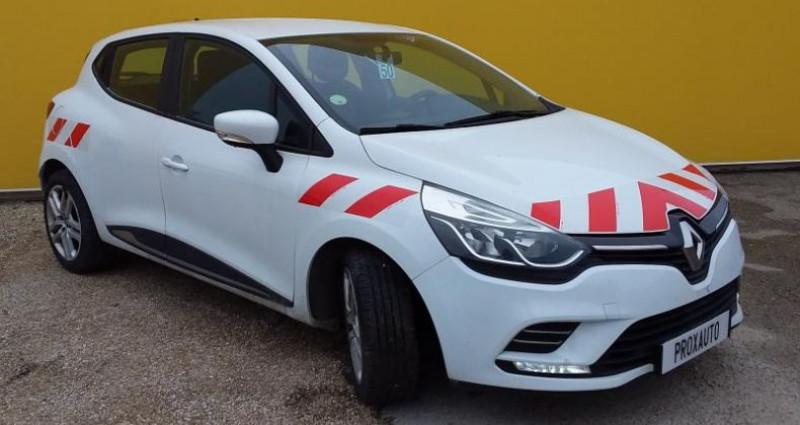 Renault Clio IV dCi 75 Energy Zen Blanc occasion à Fontenay-le-vicomte - photo n°3