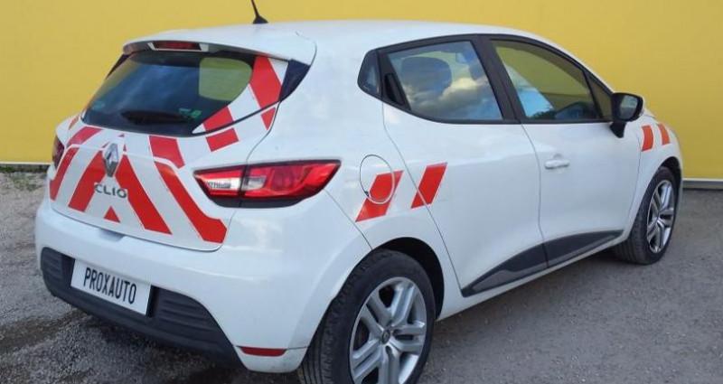 Renault Clio IV dCi 75 Energy Zen Blanc occasion à Fontenay-le-vicomte - photo n°4