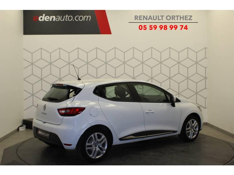Renault Clio IV dCi 75 Energy Zen Blanc occasion à Orthez - photo n°3