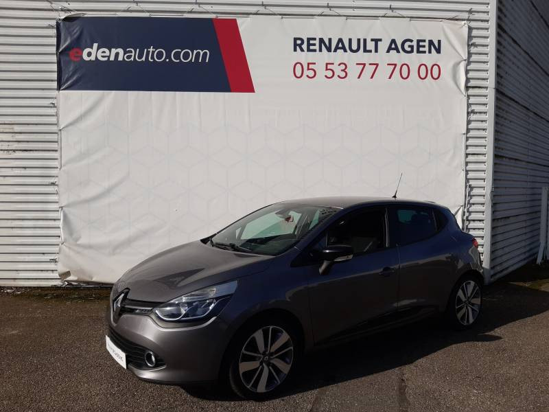 Renault Clio IV dCi 90 Energy eco2 Graphite 90g Gris occasion à Agen