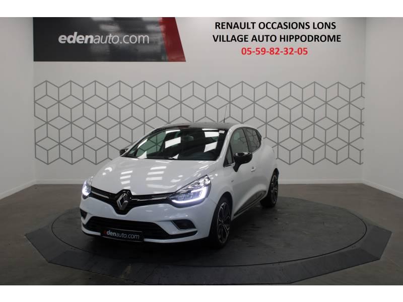 Renault Clio IV dCi 90 Energy Edition One EDC Blanc occasion à LESCAR