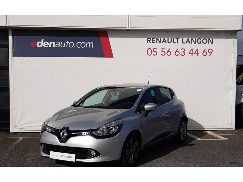 Renault Clio IV dCi 90 Energy Intens Gris occasion à Langon - photo n°2