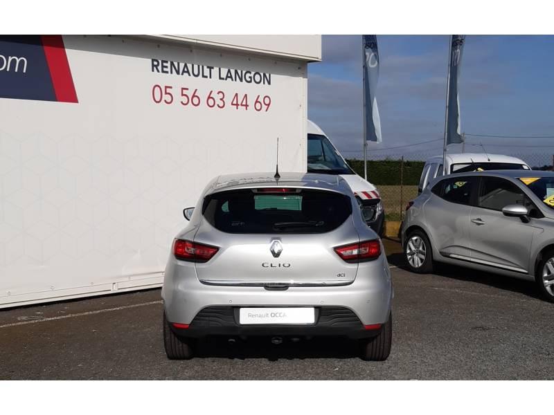 Renault Clio IV dCi 90 Energy Intens Gris occasion à Langon - photo n°4